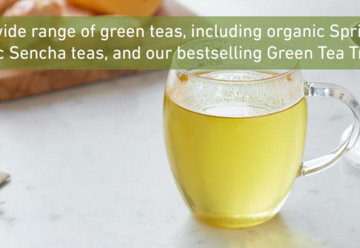 Grønn te i kopp